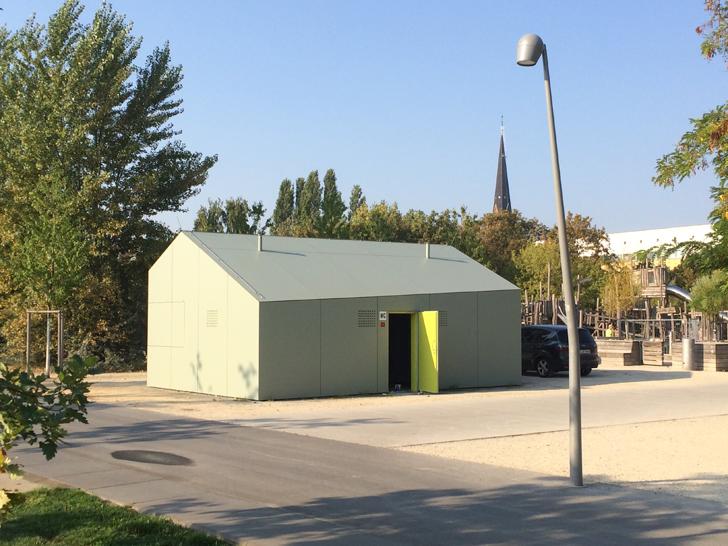 Kiosk Gleisdreieck 2016 opening news